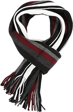 Sakkas 1591 - Rhyland Striped Color Block Knitted Winter Sca