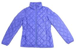 32 Degrees Women's Pack-able Quilted Jacket Purple