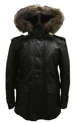 Coach 83997 Men's Thompson Leather Snorkel Parka Insulated W