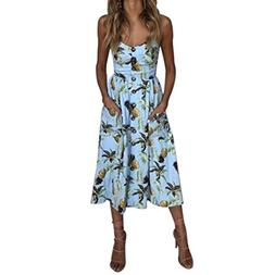 BeautyVan Clearance Deals ! Women Dress 2018 Women Summer Be
