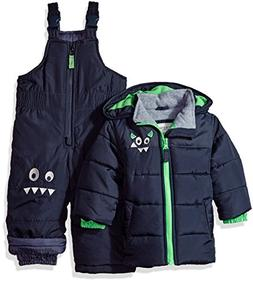 Carter's Baby Boys Heavyweight Bubble 2-Piece Snowsuit, Navy