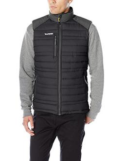 Caterpillar Defender Insulated Vest, Black, 2X-Large