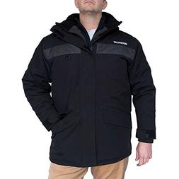Caterpillar Glacier Parka, Black, Medium