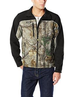 Caterpillar Men's Soft Shell Jacket, Realtree Xtra Camo, X-L