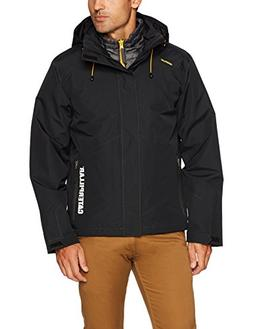 Caterpillar Men's Summit 3-in-1 Jacket, Black, 2X-Large
