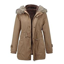 Clearance Winter Jackets Coat Cardigan Hooded Parka Warm Aft