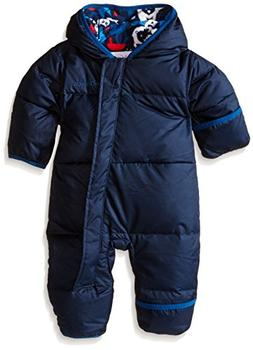 Columbia Baby Boys' Snuggly Bunny Bunting, Navy/Collegiate P