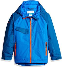 Columbia Boys Snow Pumped Jacket, X-Large, Super Blue