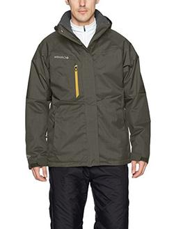 Columbia Men's Alpine Action Jacket, Large, Gravel