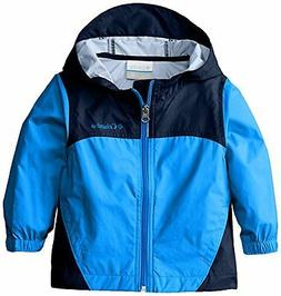 Columbia Toddler Boys' Glennaker Rain Jacket, Hyper Blue, 4T