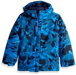Columbia Toddler Boys' Lightning Lift Jacket, Super Blue Woo