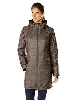 Columbia Women's Mighty Lite Hooded Jacket, Mineshaft, Mediu