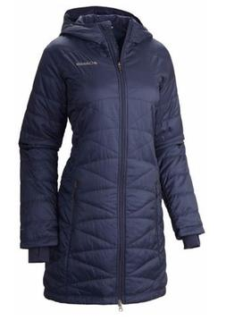 Columbia Women's Mighty Lite Hooded Jacket, Nocturnal, Large