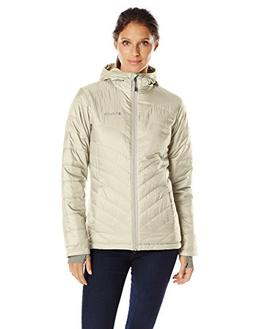 Columbia Women's Mighty Lite Hooded Plush Jacket, Chalk, Sma