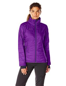 Columbia Women's Mighty Lite III Jacket, Iris Glow, Medium