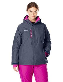 Columbia Women's Plus Size Alpine Action Omni-Heat Jacket, N