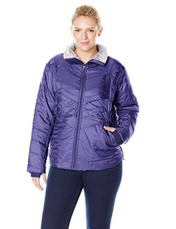 Columbia Women's Plus Size Kaleidaslope II Jacket, Nightshad
