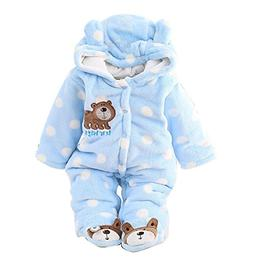 Gaorui Newborn Baby Jumpsuit Outfit Hoody Coat Winter Infant