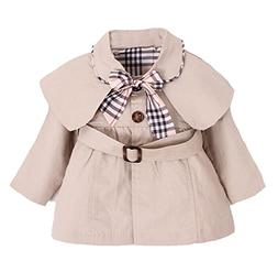 Kids Baby Girl Spring Autumn Trench Coat Fashion Wind Proof
