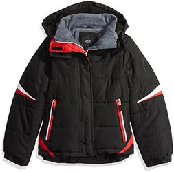 London Fog Little Boys' Active Puffer Jacket Winter Coat, Su
