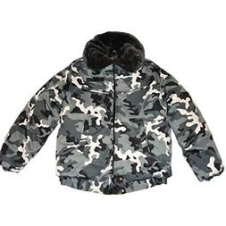 Modern Russian Military Winter Camo Jacket Uniform Snow Area