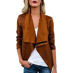 Mose Clearance !!! Ladies Kimono Women's Suede Jacket Autumn