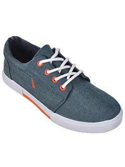 Nautica Boys' Berrian Low-Top Sneakers  - Chambray Blue, 5 Y