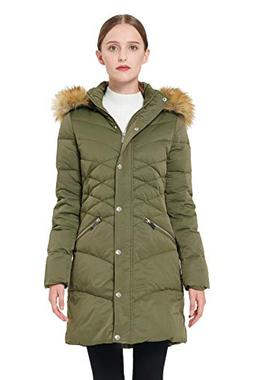 Orolay Women's Thickened Down Jacket Puffer Coat with Hood G