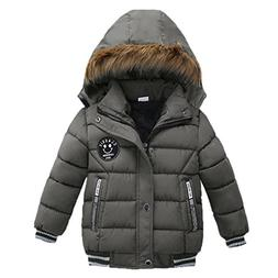 Sunbona Toddler Baby Boys Autumn Winter Down Jacket Coat War