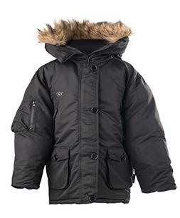 The Polar Club Toddlers' Heavy Parka Jacket Winter Coat W/Re