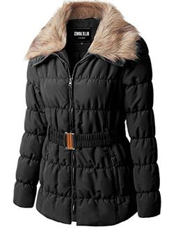 ViiViiKay Womens Classy Warm Fur Lined or Quilted Padded Par