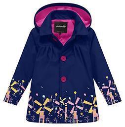 Wantdo Girl's and Boy's Waterproof Winter Jacket Fleece Rain