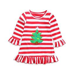 ZLOLIA Baby Clothes Autumn Winter Christmas Toddler Girl Tur