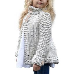 ZLOLIA Baby Clothes Set Autumn Winter Toddler Girls Coat Top