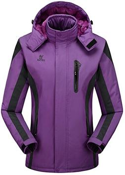 Women's Alternative Outerwear Coats Snowboarding Fleece Line