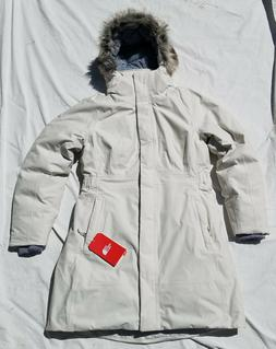 The North Face Womens Arctic Parka II - Vintage White - L