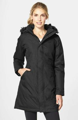 Women's The North Face Arctic Parka Jacket Black Size X-Larg