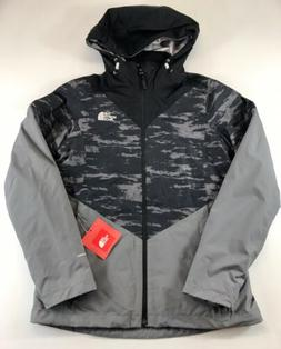 The North Face Aryi Tri 3 in 1 Winter Jacket  Coat Gray NEW