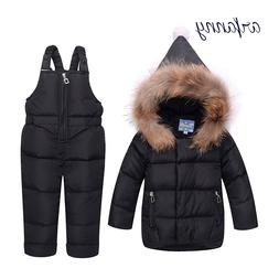 Baby <font><b>GirlsWinter</b></font> Clothes90% White Duck F