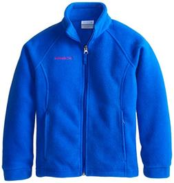 Columbia Little Girls'  Benton Springs Fleece, Coral Glow, 3