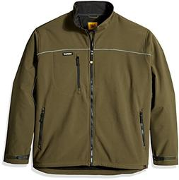 Caterpillar Big and Tall Soft Shell Jacket, Army Moss, 2X-La