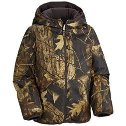 Columbia Big Boys' Dual Front Jacket, Timberwolf, Large