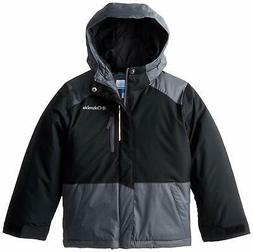 Columbia Big Boys' Lightning Lift Jacket, Black/Graphite, Sm
