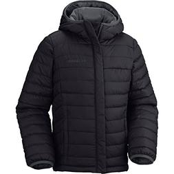 Columbia Big Boys' Powder Lite Puffer Jacket, Black, Medium