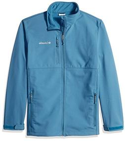 Columbia Men's Big and Tall Ascender Softshell Jacket, Blue