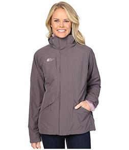 The North Face Women's Boundary Triclimate Jacket Rabbit Gre