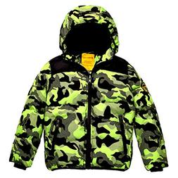 boy s winter coat waterproof thick padded
