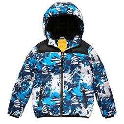 Wantdo Boy's Winter Coat Waterproof Thick Padded Winter Jack