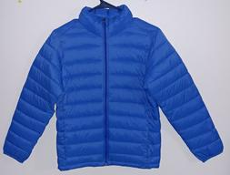 Boys kids coat amazon essential puffer coat blue size XL pac