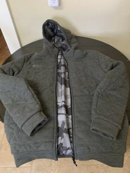 Brand New Mens North Face Coat Size Medium And Reversible!